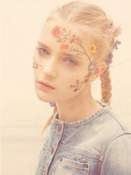 136-flower-makeup-איפור-פרחים