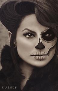 139-night-of-the-dead-makeup-איפור-ליל-המתים