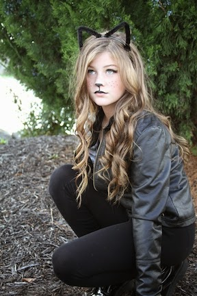 3913-cat-makeup-איפור-חתולה