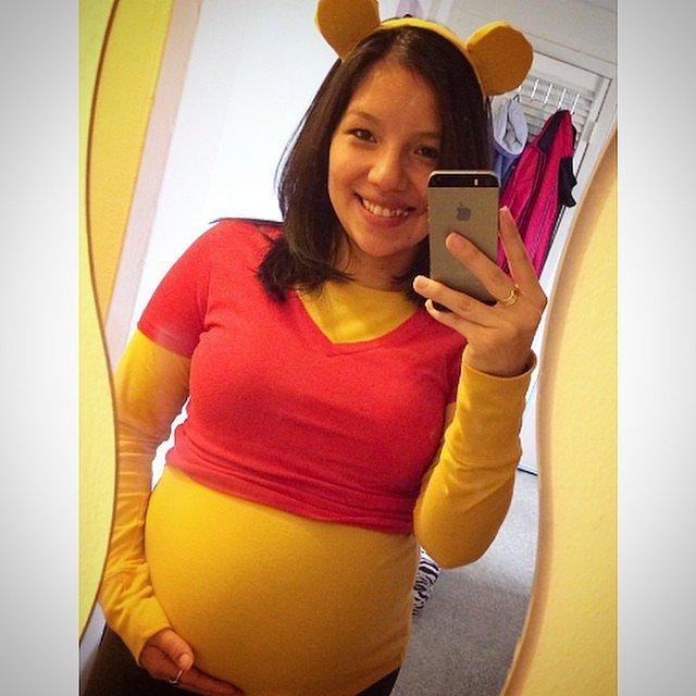 3917-Winnie-Pooh-תחפושת-פו-הדוב-הריון