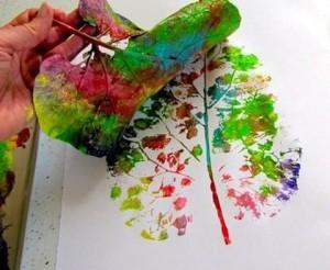 1646-leaves-paint-ציור-עלים