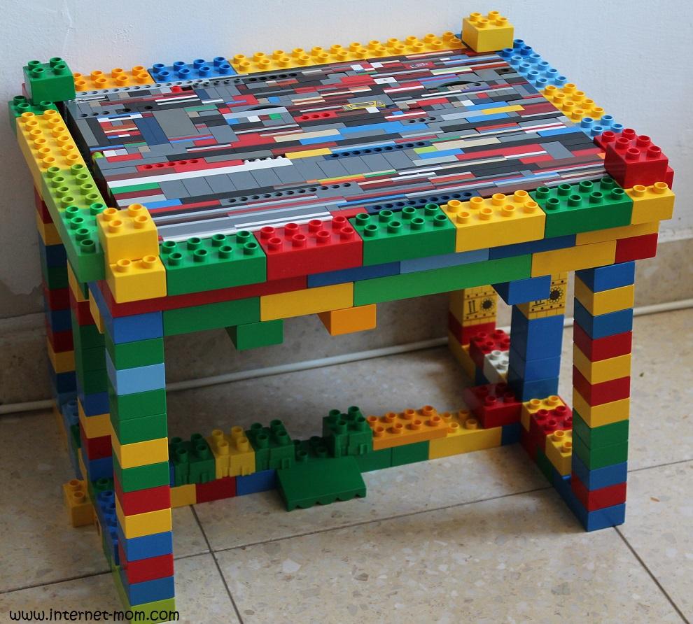 בונים שולחן מלגו
