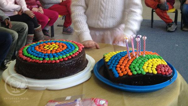 עוגת יום הולדת מנצחת