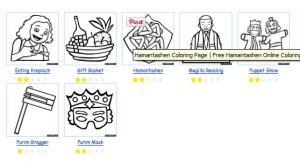3196-purim-coloring-pages-דפי-צביעה-פורים