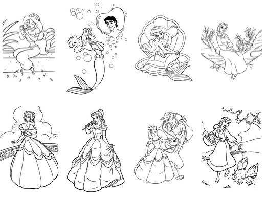 3263-disney-princess-coloring-pages-דפי-צביעה-נסיכות-דיסני