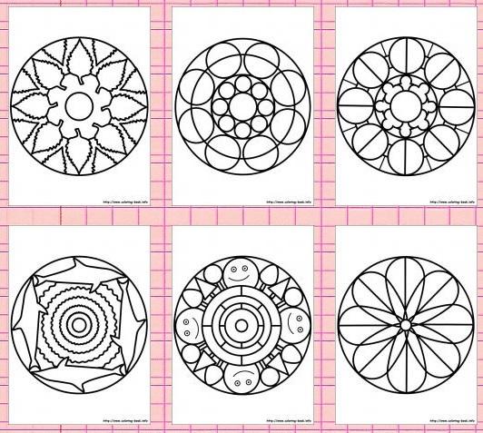3268-mandala-coloring-pages-מנדלה-דפי-צביעה