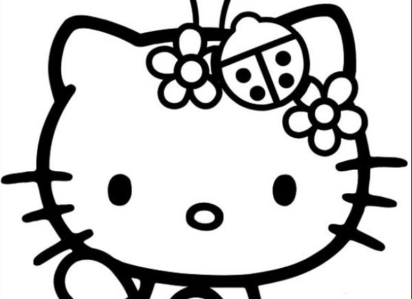 דפי צביעה הלו קיטי