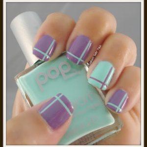 681-purple-stripe-nails-ציפורני-פסים-סגול