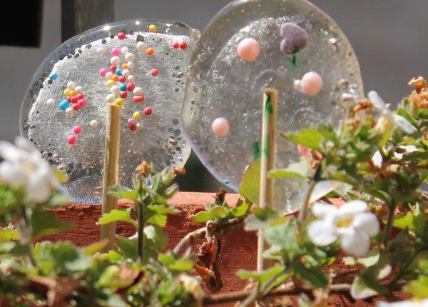 סוכריות שקופות תוצרת בית
