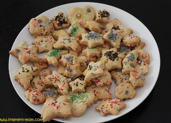 עוגיות חמאה פשוטות