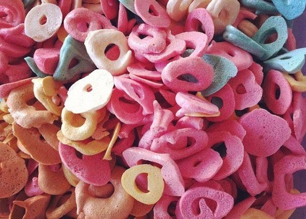 מורקייק: צמידי סוכריות מרנג