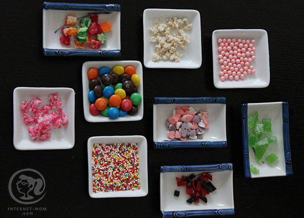 אוזני המן במילוי ממתקים