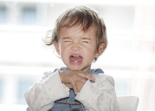 התקפי זעם אצל פעוטות