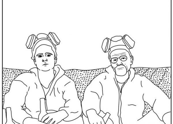 דפי צביעה למבוגרים – ידוענים, סרטים וסדרות טלוויזיה