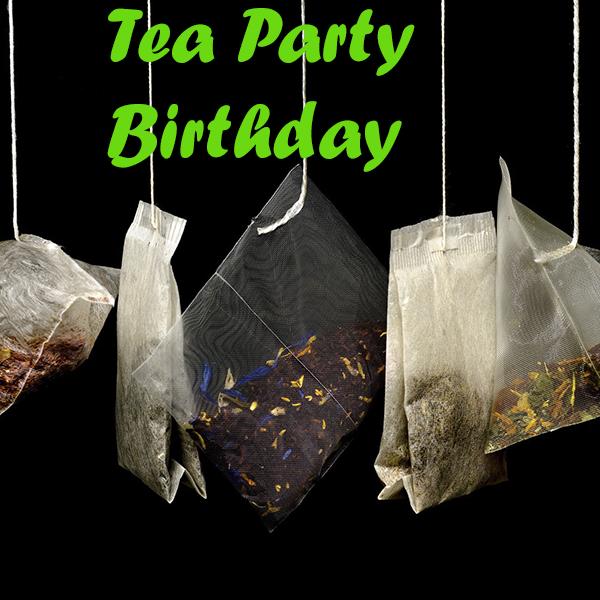 יום הולדת מסיבת תה