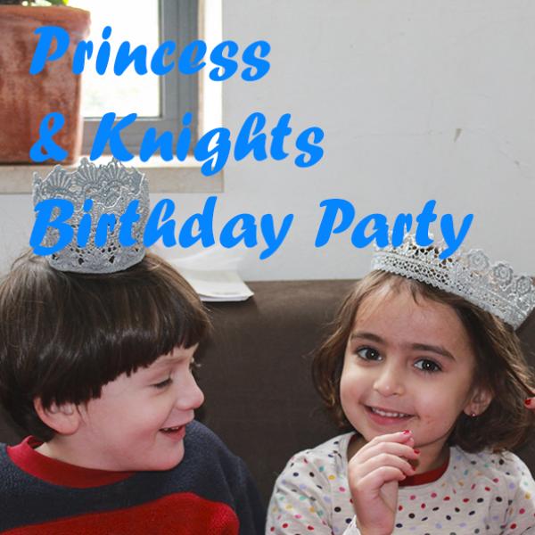 יום הולדת נסיכות ואבירים